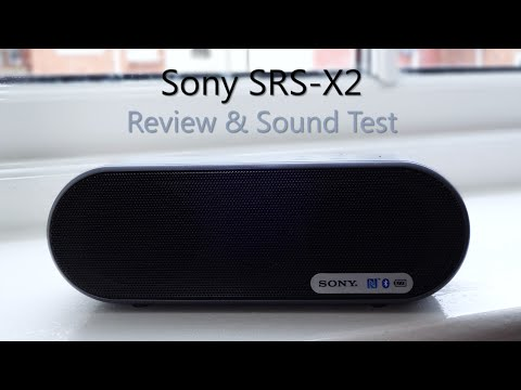Sony SRS-X2 review & Sound test