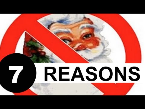 7 Reasons Why You Should NOT Teach Your Children About Santa
