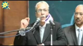 محافظ المنيا يشهد حفل تأبين شهداء الحادث الإرهابي بجمعية الشبان المسلمينبالفيديو