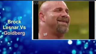 Goldberg destroys Brock brock lesnar vs goldberg full match wrestlemania 20 270p 360p
