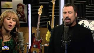 Watch Miley Cyrus I Thought I Lost You Ft John Travolta video