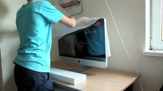New Spring 2011 iMac 27 i5 Unboxing