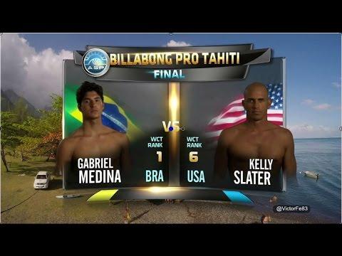 ASP Billabong Pro Tahiti 2014 Medina x Slater Final Portuguese Day
