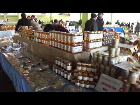 Organiczny bazar w Stambule / Organic bazaar in Istanbul