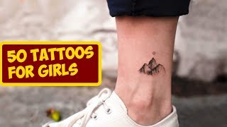 50 Tiny Girl Tattoo Ideas For Your First Ink