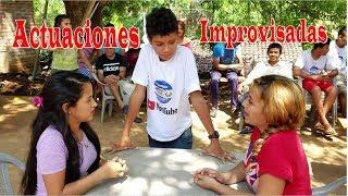Actuaciones Improvisadas - Conviviendo Con El Canal El Salvador Chirilagua Tv Parte 9