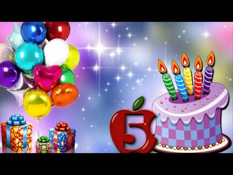 Короткие поздравления с днем рождения на 5 лет мальчику 77