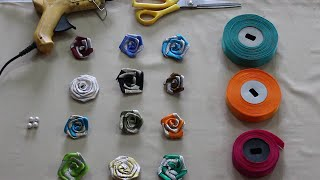 Ribbon Flower Making for saree packing and trousseau packing | Nidhi Handicrafts