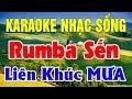 Karaoke Liên Khúc Trữ Tình - Bolero - Hòa Tấu | Nhạc Sống Karaoke Nhạc Vàng Lk Mưa | Trọng Hiếu thumbnail