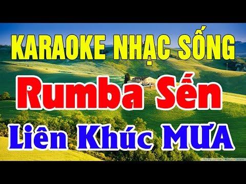 Karaoke Liên Khúc Trữ Tình - Bolero - Hòa Tấu | Nhạc Sống Karaoke Nhạc Vàng Lk Mưa | Trọng Hiếu