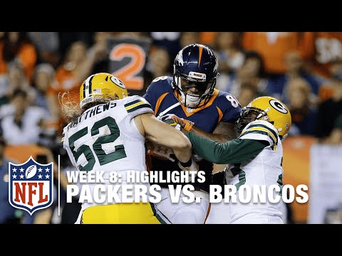 Packers Vs Broncos Week 8 Highlights Nfl