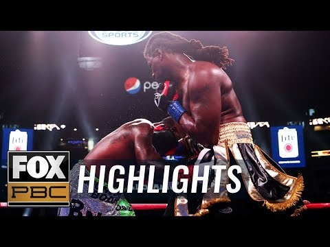 Gregory Corbin lands four low blows, gets DQ'd vs. Charles Martin | HIGHLIGHTS | PBC ON FOX