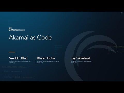 Akamai as Code