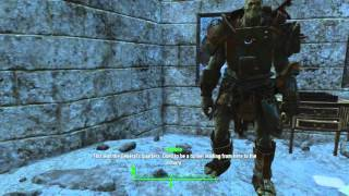 Fallout 4 ! How to access Castle's Amory