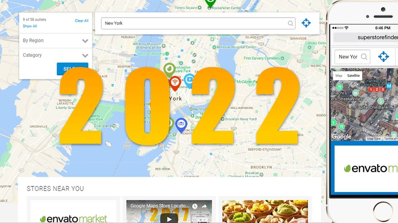Google Maps Store Locator 2018 Super Store Finder Youtube