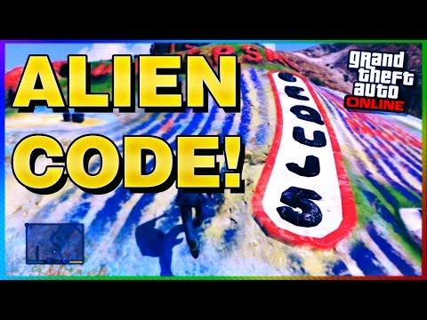 GTA 5 Easter Eggs - SECRET ALIEN MESSAGE FOUND!