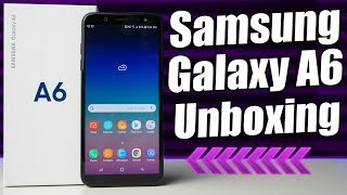 Metro By T-Mobile Samsung Galaxy A6 Unboxing & Hands-On