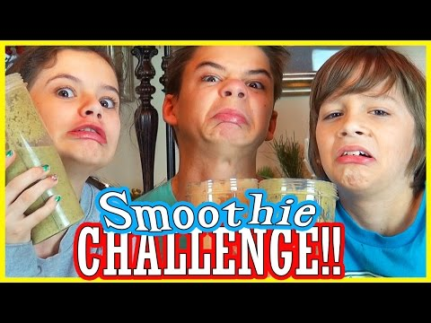 SMOOTHIE CHALLENGE!!!   |  KITTIESMAMA