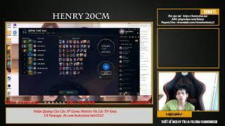 [Henry Live] hello a e :3 thông báo mình chuẩn bị về Fanpage sờ trim nhé