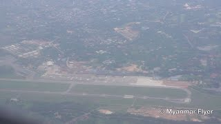 RARE! Aerial View of Yangon International Airport