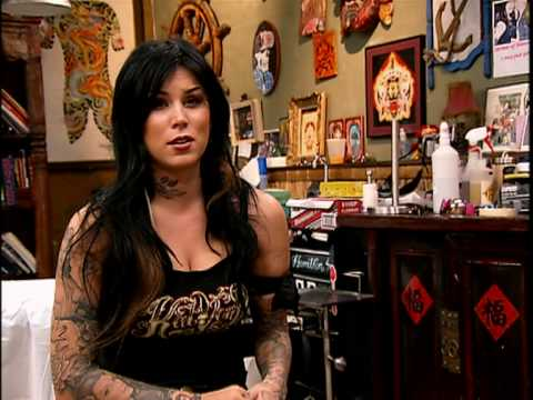 Kat Von D Pinup - Miami Ink