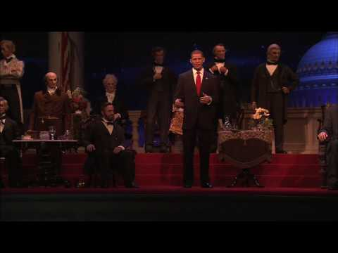 Barack Obama Joins Hall of Presidents at Disney s Magic Kingdom