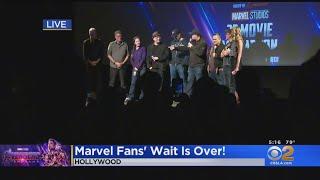 Fans Gear Up For 'Avengers: Endgame' With Epic El Capitan Movie Marathon
