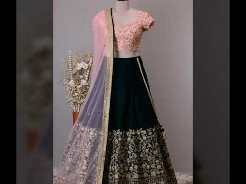 Latest new designer party wear lehnga collection