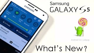 Galaxy S5 - What's New with Official Android 5.0 Lollipop Update