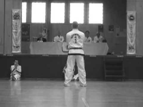 ITF Taekwon-do Master Svendsen