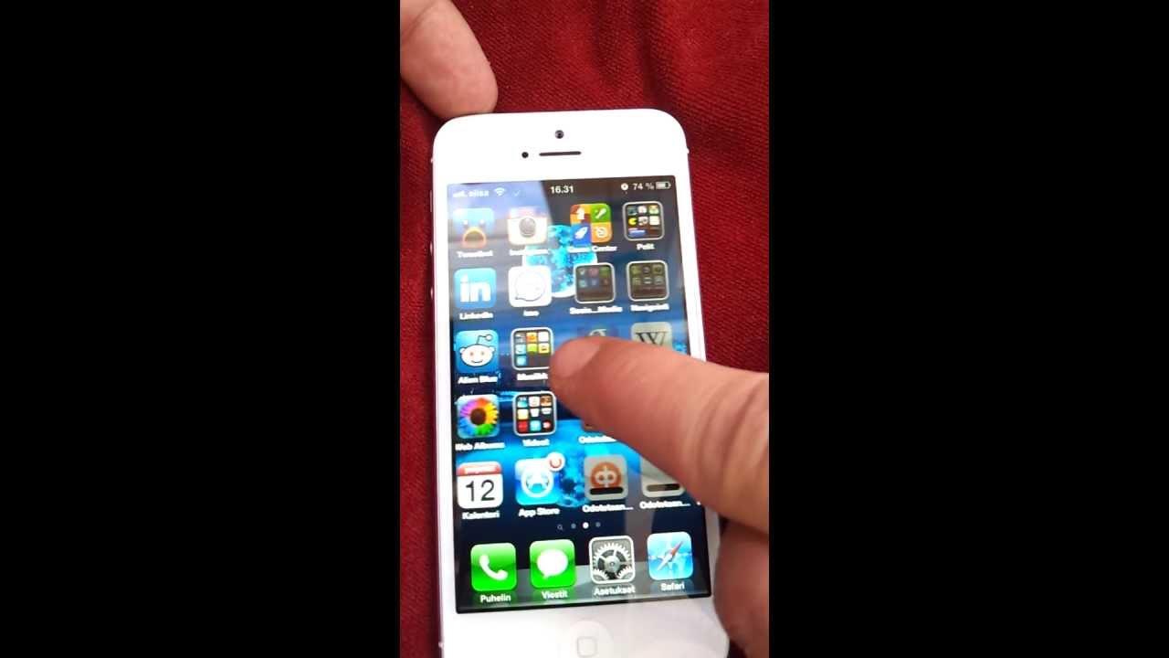 Iphone 5 Lagging