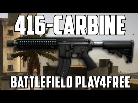 Battlefield Play4free 416-Carbine Gun Review