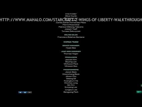 StarCraft II Walkthrough - The Ending Credits