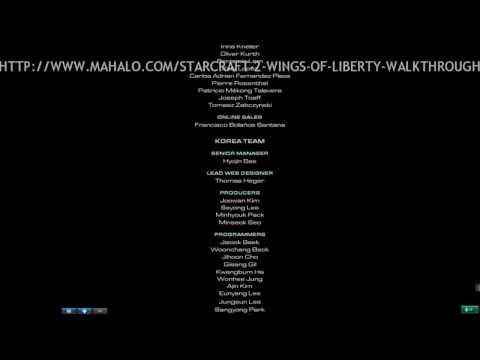 StarCraft II Walkthrough - The Ending Credits