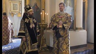 Прямая трансляция | Благовещение литургия. Митрополит Иларион |  07.04.2020
