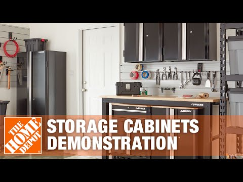 Husky Garage Storage Cabinets Quality Demonstration