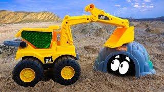 Car excavator, airplane, garbage truck, rocket car - B940P Toys for kids