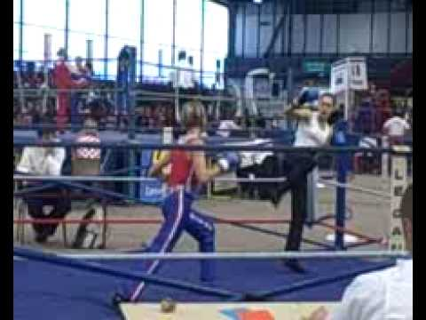 France v. Serbia, Women's Savate Kickboxing, 52kg 1 Image 1
