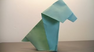 Origami Dog