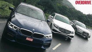 BMW 5 Series (G30) v Mercedes-Benz E-Class LWB v Audi A6 - Comparative Review