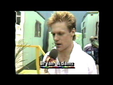 MTV Interview - Bryan Adams (MTV - Live Aid 7/13/1985)