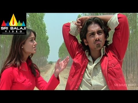 Aata Movie Siddharth and Ileana Scene