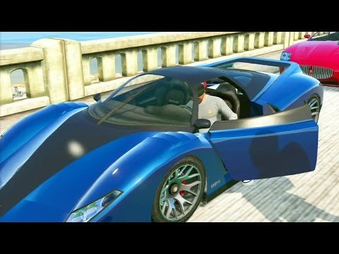 GTA 5 #16: Roubando Super Carros / Easter Egg da Bola Gigante / Carro Cromado - Xbox / PS3 gameplay