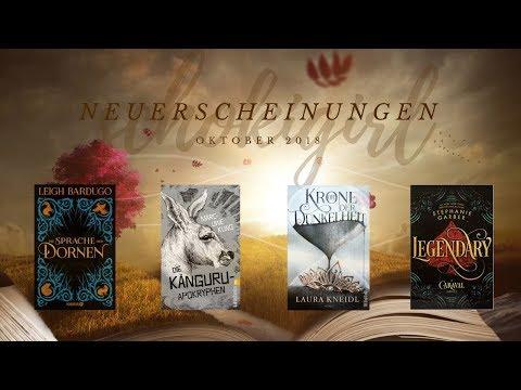 Die Buchmesse bringt Bücher! - Neuerscheinungen: Mögliche Neuzugänge im Oktober 2018 | schokigirl