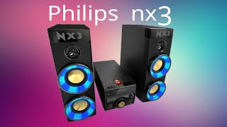 Mini System Philips Nitro NX3