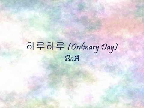 Boa - Ordinary Day