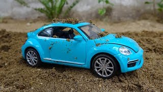 Find cars in the sand #2 - H606T Toys for kids