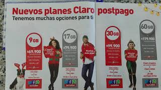 Claro Mobile Cell Phone Plans in Colombia - Very Cheap Tourist SIM Cards (see description below)