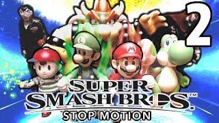 Super Smash Bros Ultimate- STOP MOTION Episode 2 (4K)