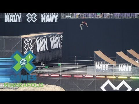 Clay Kreiner wins Skateboard Big Air bronze   X Games Minneapolis 2017